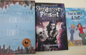 Colum McCann's Let the Great World Spin, Danish; Derek Landy's Skulduggery Pleasant Dark Days, Swedish; Judi Curtin's Don't Ask Alice, Serbian
