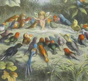 Detail from just one of Richard Doyle's glowing Fairyland illustrations