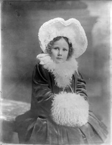 A Miss Dobbyn, who grew up to become Mrs Davis by Poole Photographic Studios. NLI call no. P_WP_4436
