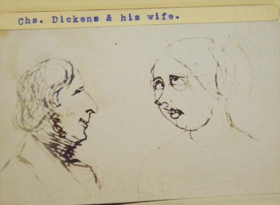 Mr and Mrs Charles Dickens. NLI call no. PD 2041 TX
