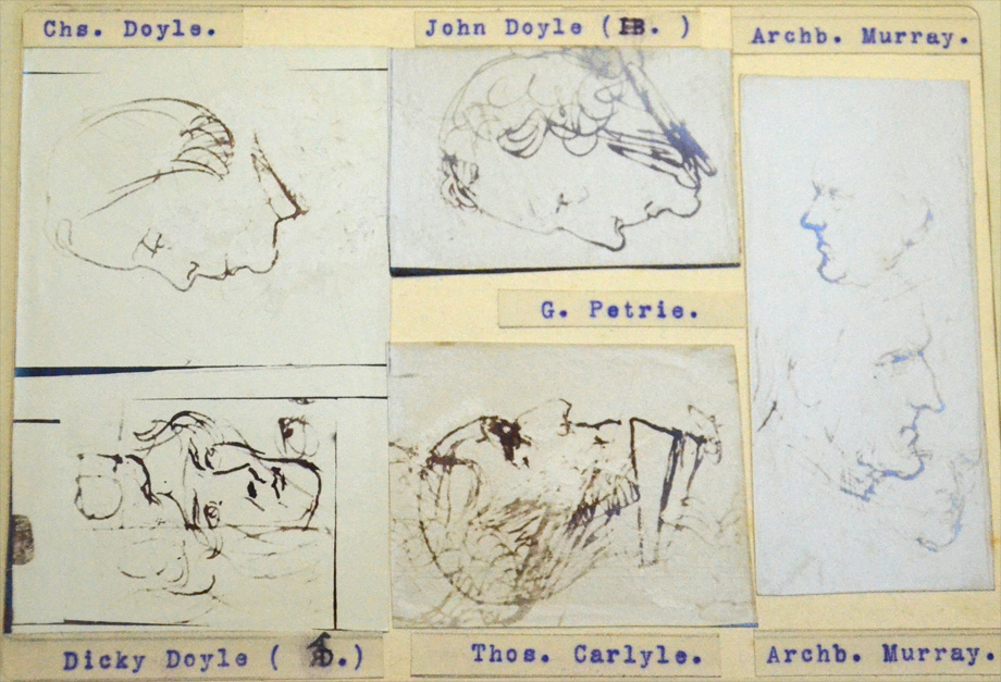 Portraits of prominent figures of the day, by Henry Doyle. NLI call no. PD 2041 TX