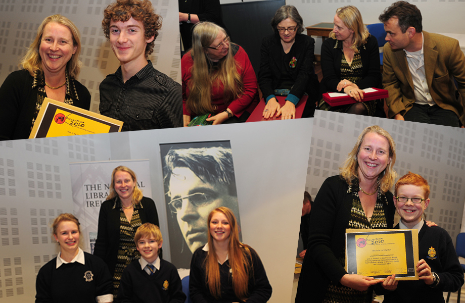 Images from the Semi-Final and Final Day of Poetry Aloud 2010 at the National Library of Ireland