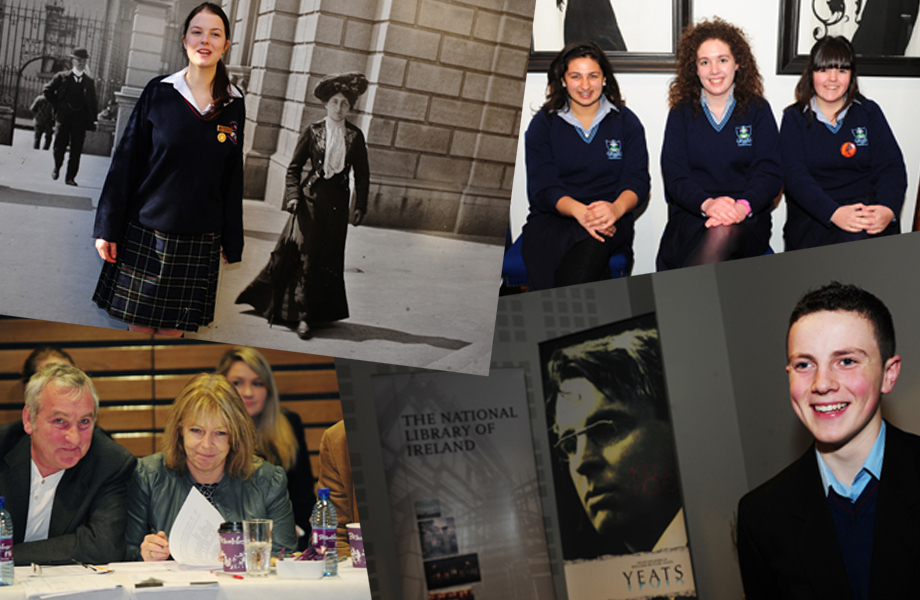 Images from the 2010 Poetry Aloud Semi-Final & Final Day at the National Library of Ireland
