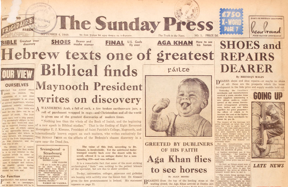 Sunday Press, 4 September 1949