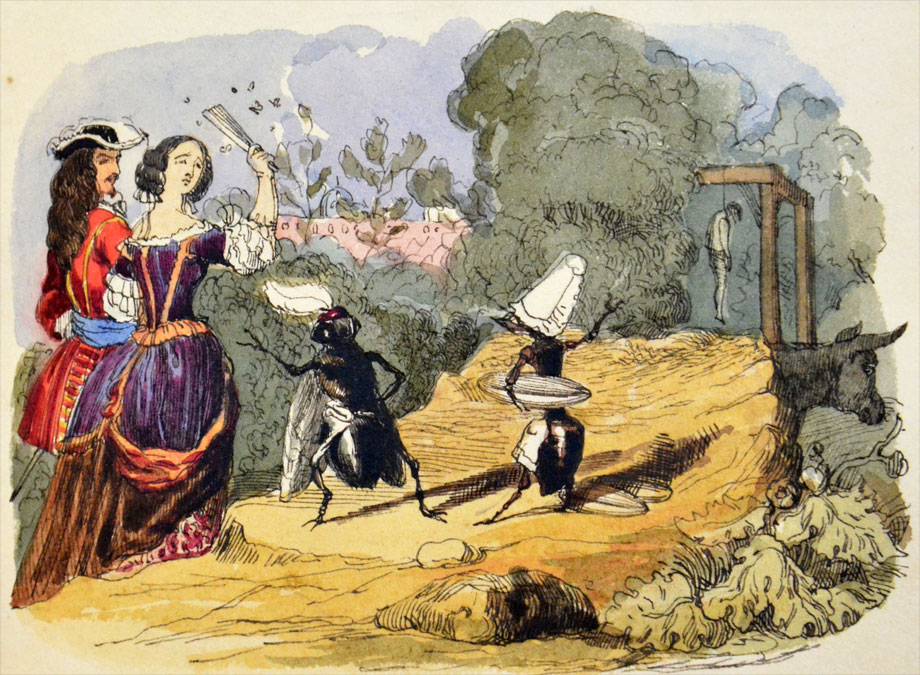 From an album of original illustrations by Charles Doyle. NLI ref.: PD 2004 TX