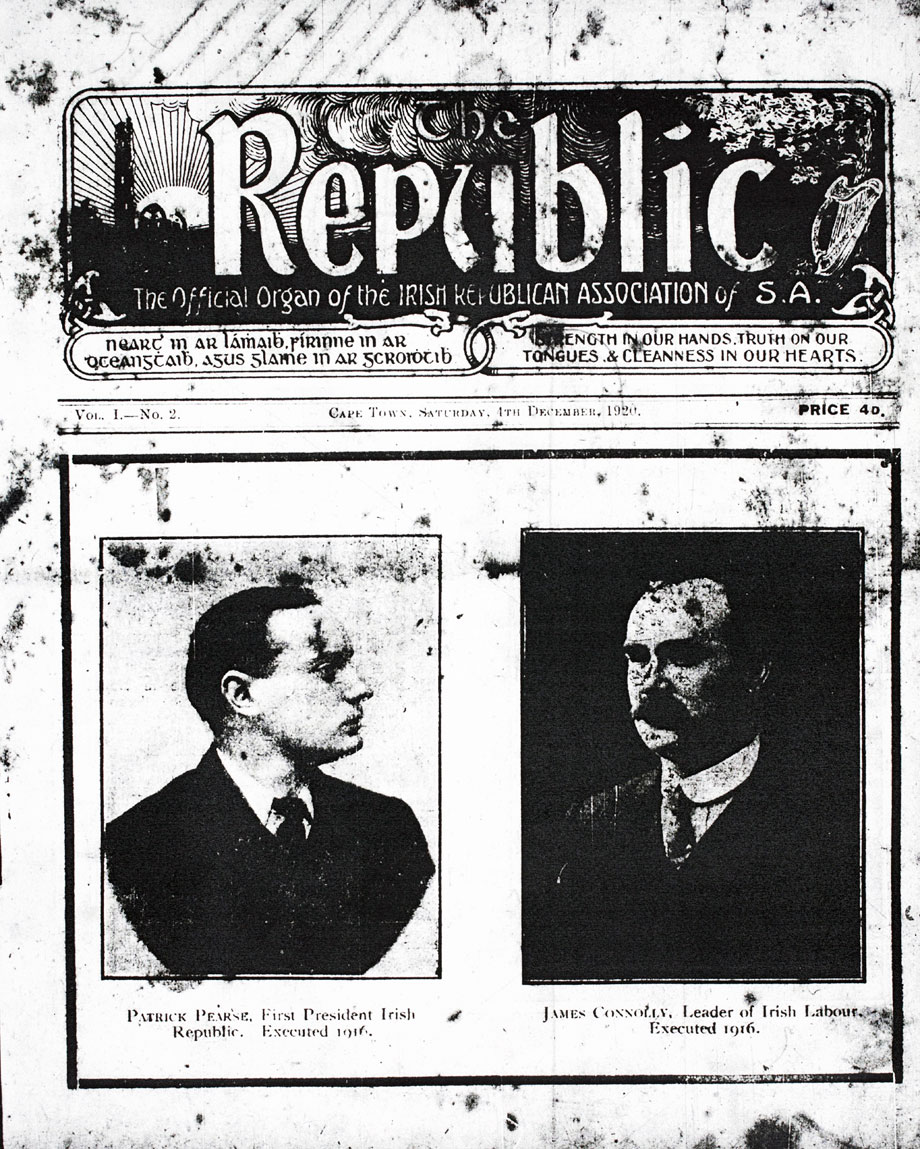 The Republic from Saturday, 4 December 1920