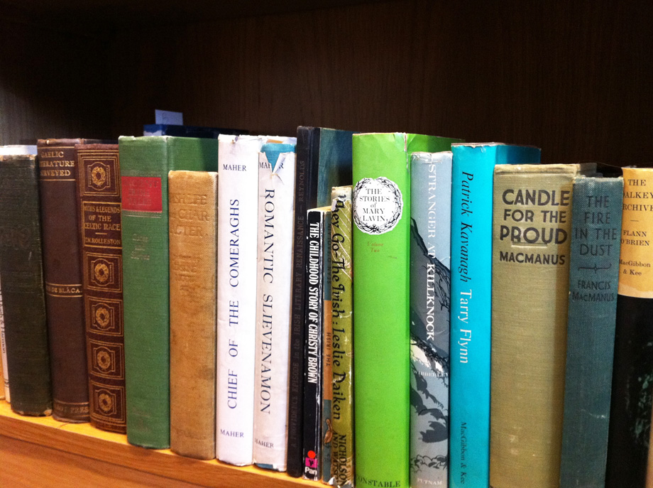 A selection of books from our Sean O'Casey library collection
