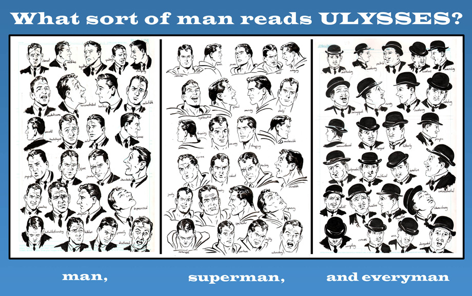 "What sort of man reads ULYSSES? Rob Berry describes this as ""an image that still makes me giggle in my nerdly way"". By Robert Berry with Josh Levitas."
