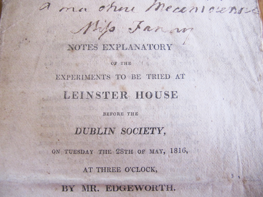 Leinster House Experiments