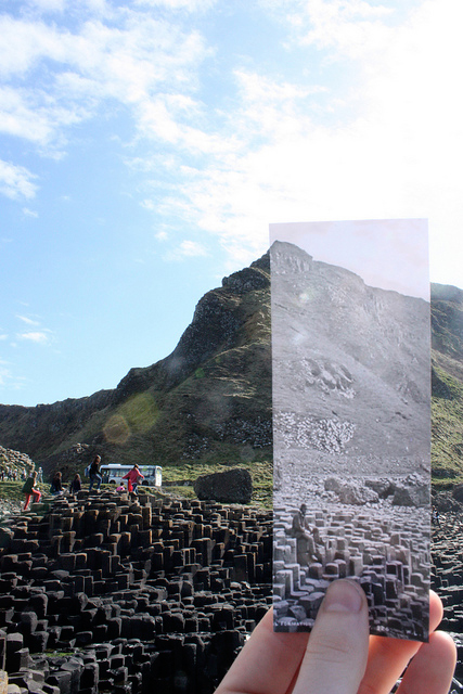 Giant's Causeway rephotographed